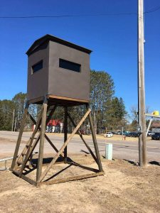 Evergreen Hunting Blinds